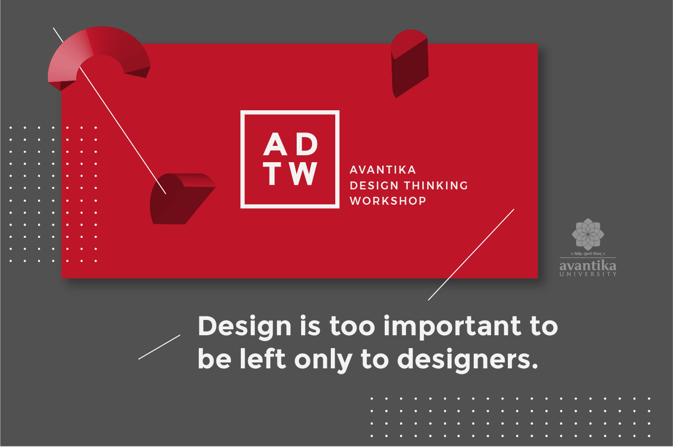 avantika design thinking workshop
