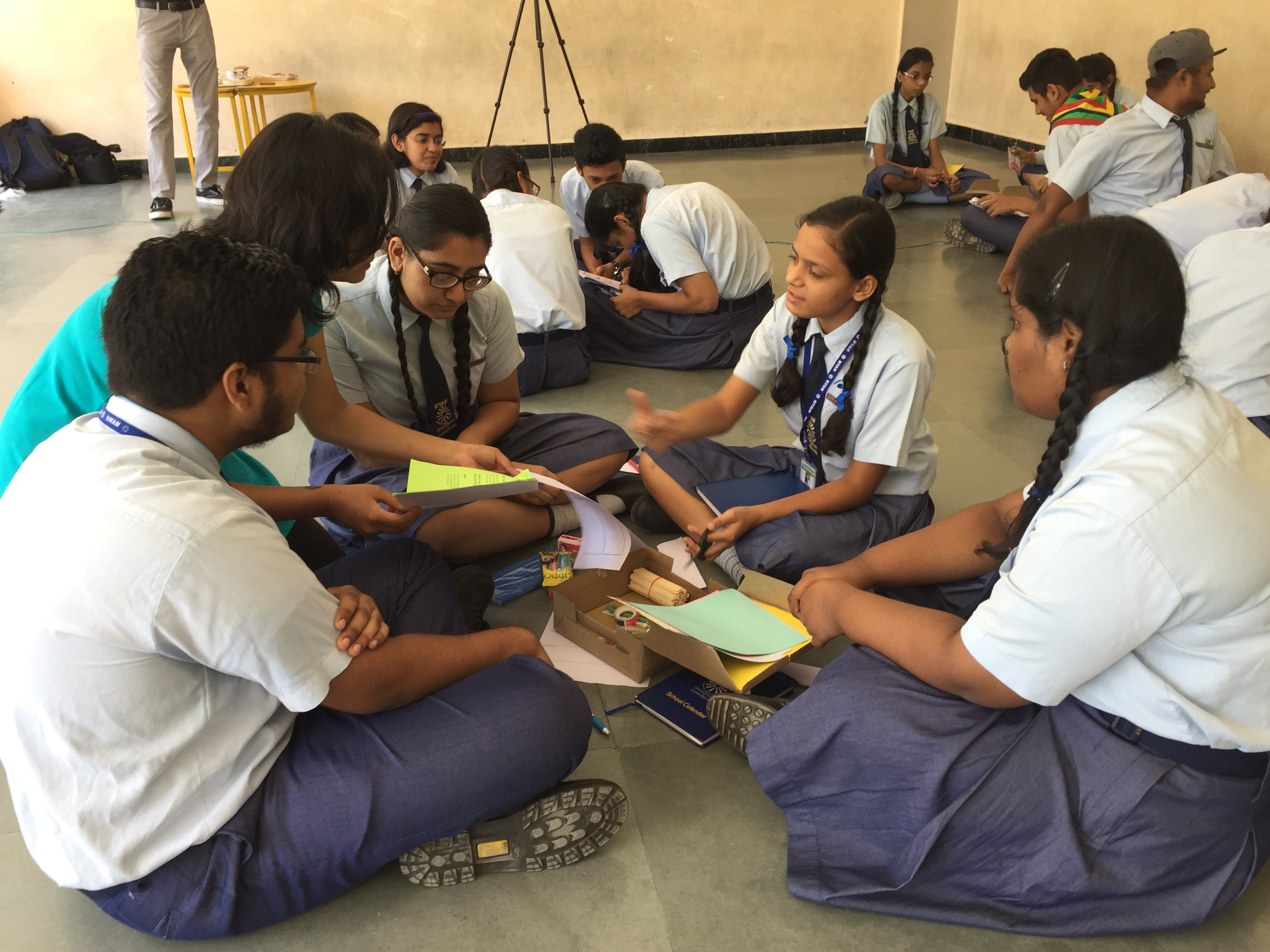 Design Thinking' workshop conducted for school children in Bhopal