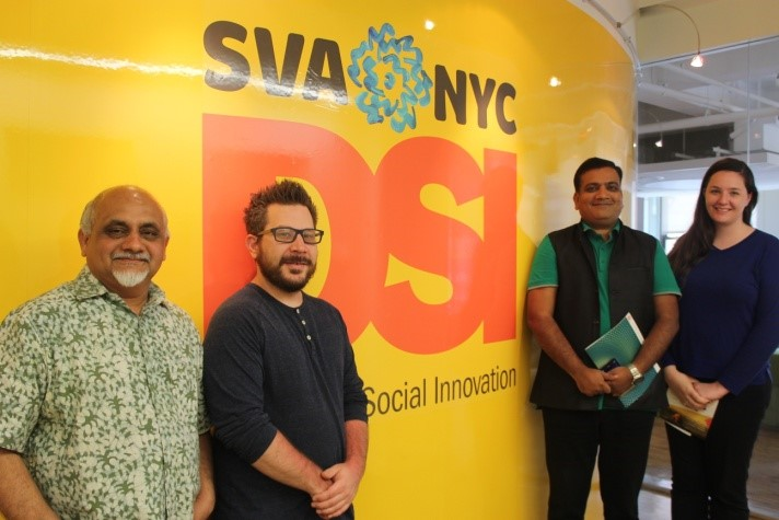 Exploring collaboration opportunities with School of Visual Arts, New York